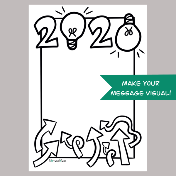 2020 Make Your Message Visual Kaart Shop