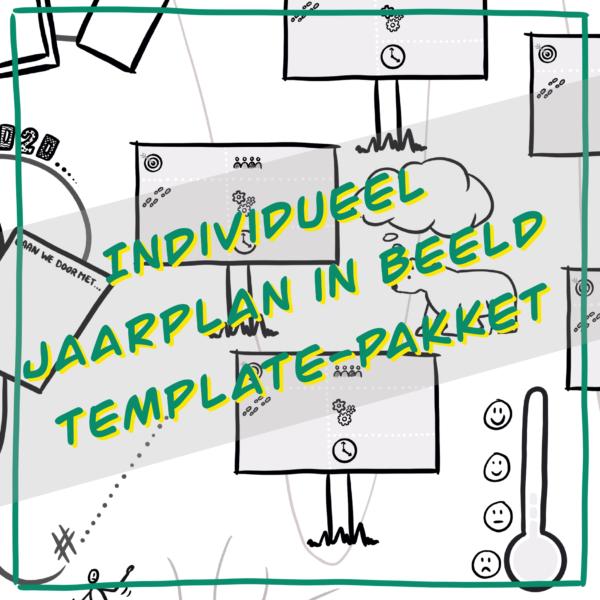 Individueel zzp Jaarplan in beeld Template Pakket