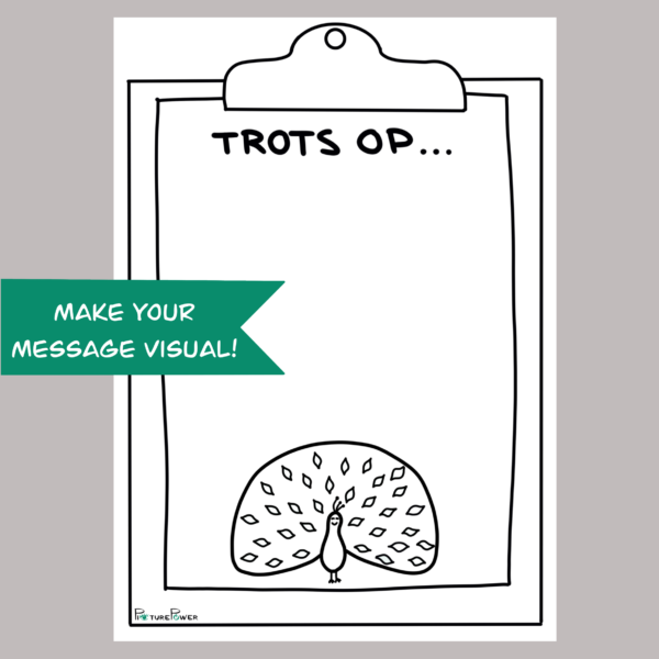 Trots Make Your Message Visual Kaart Shop