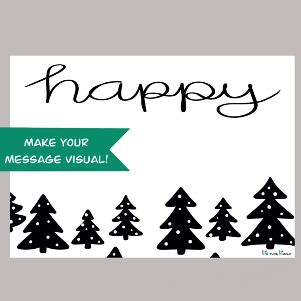 Happy Make Your Message Visual Kaart Shop