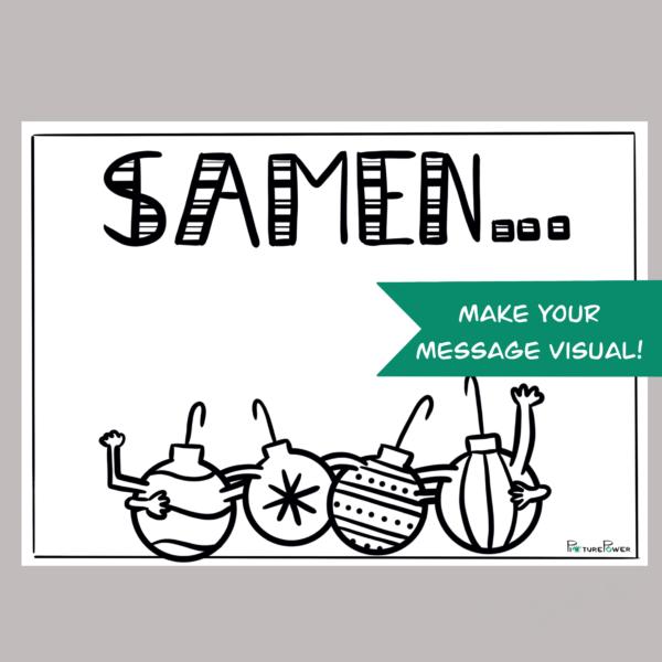 Samen Make Your Message Visual Kaart Shop